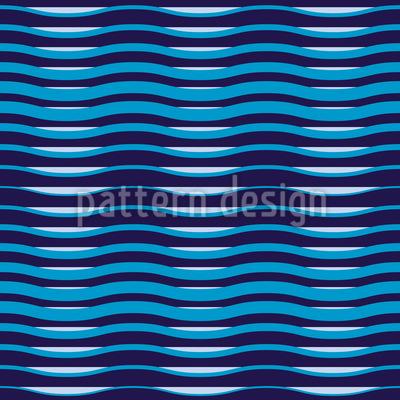 Wellenbewegung Nahtloses Muster