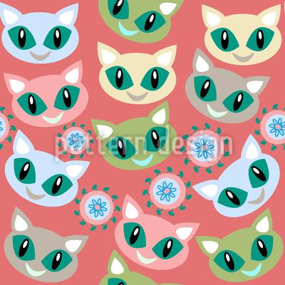 Lächelnde Katzen Rapport