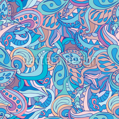 Paisley Vision Pattern Design