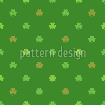St Patricks Clover Repeating Pattern
