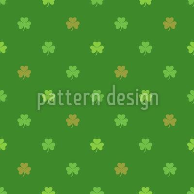 St Patricks Klee Rapportiertes Design
