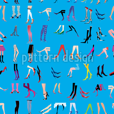 No Shoes To Wear Seamless Pattern