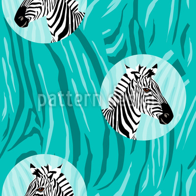 Look A Zebra Vector Design