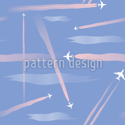 Flug Show Vektor Ornament