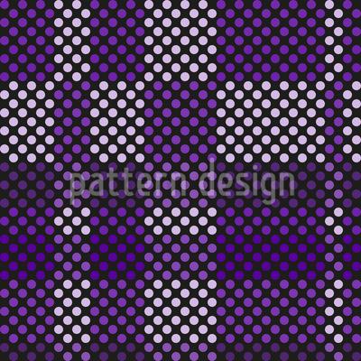 Punkt Für Punkt Im Karotakt Vektor Design