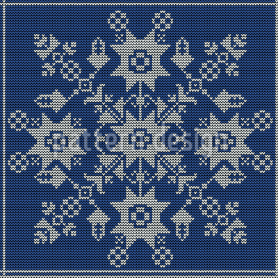 Knit It Seamless Vector Pattern Design