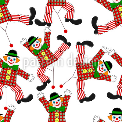 Clown Puppet Vector Design
