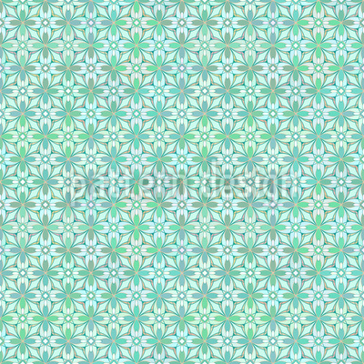 Floral Weave Design Pattern