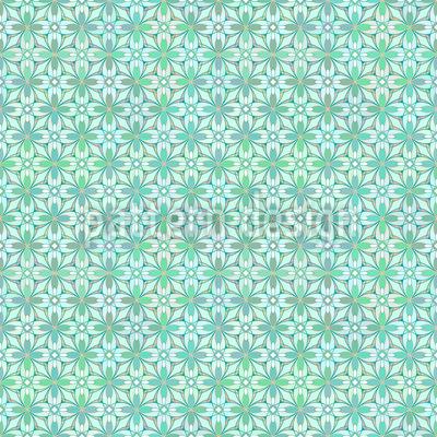 Florales Gewebe Designmuster