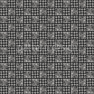Square Against Square Repeat Pattern