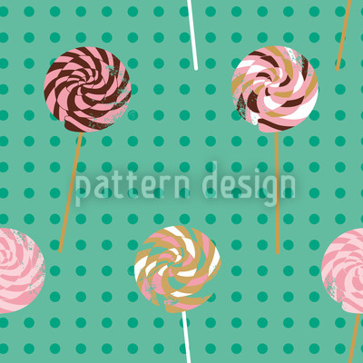 Lollipop Polkadot Repeat Pattern