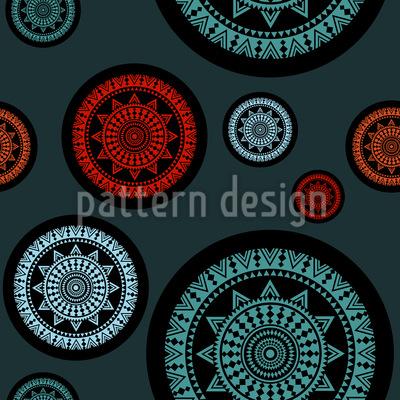 Geometric Dynamics Repeating Pattern