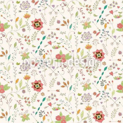 Florale Inspiration Vektor Muster