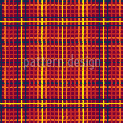 Tartan Threads Seamless Pattern