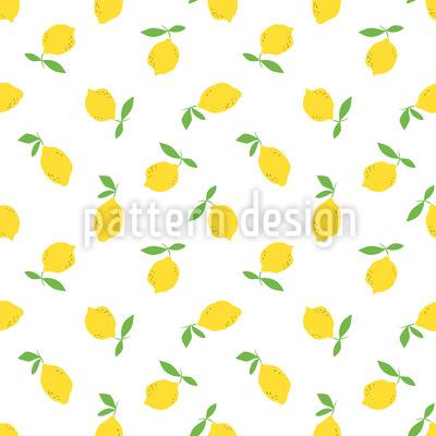 Frutta di limone disegni vettoriali senza cuciture