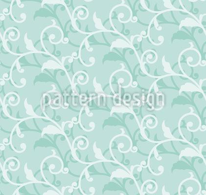 Schnörkelranken Muster Design
