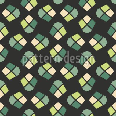Wenn Ecken Sich Treffen Muster Design