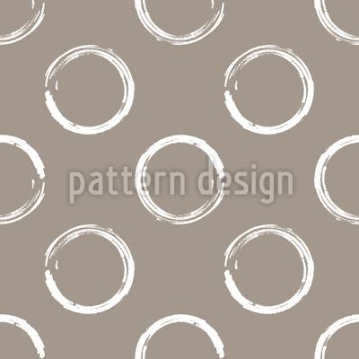 Painted Circles Vector Ornament