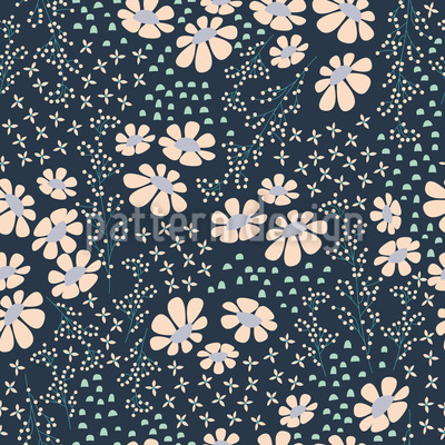 Summer Night Vector Pattern