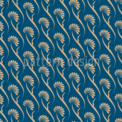 Timeless Elegant Flowers Vector Pattern