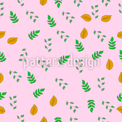 Einige Arten Von Blättern Musterdesign