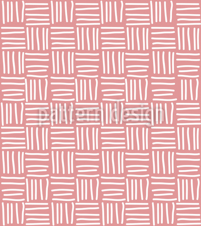 Line Basket Weave Seamless Vector Pattern Design