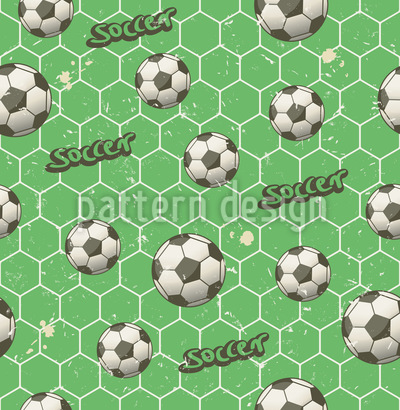 Soccer Fan Repeat Pattern