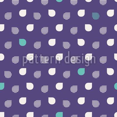 Kühler Regen Muster Design