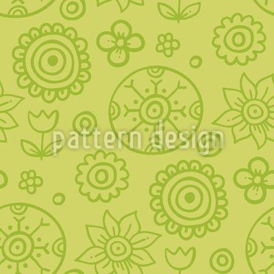 子供の頃の宝物 シームレスなベクトルパターン設計