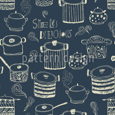 Smells Delicious Pattern Design