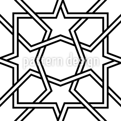 Arab Nights Seamless Vector Pattern Design