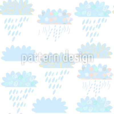 Wolken Muster Design