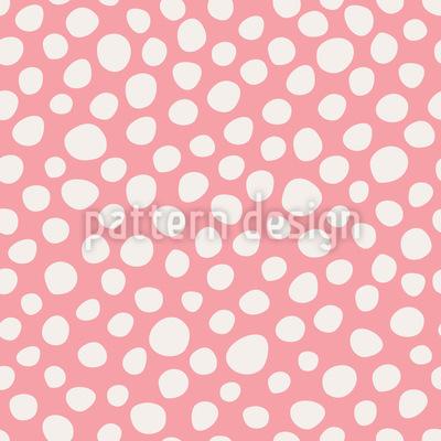 Unregular Dots Seamless Vector Pattern Design