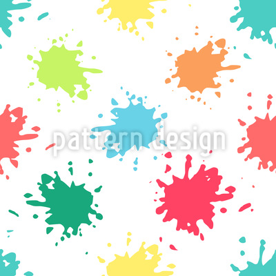 Paint Spots Repeat Pattern