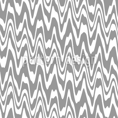 Wibbly Wobbly Waves Seamless Vector Pattern