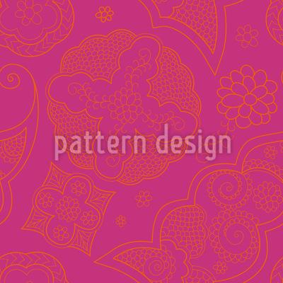 Henna Extrem Vektor Muster