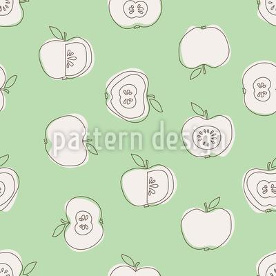 Schulapfel Muster Design
