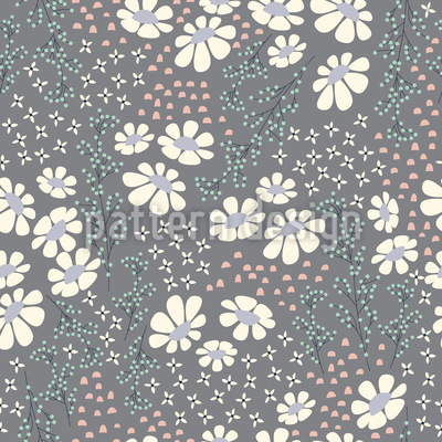 Yamanashi Summer Nights Seamless Vector Pattern