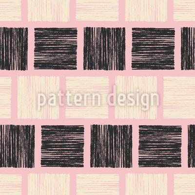 Stempeldruck Quadrate Vektor Muster