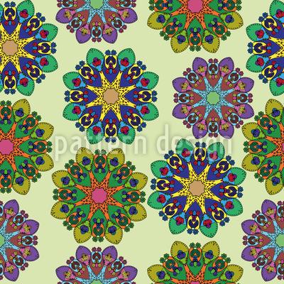 Mandala Variationen Vektor Design