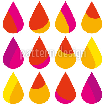 Summer Rain Pattern Design