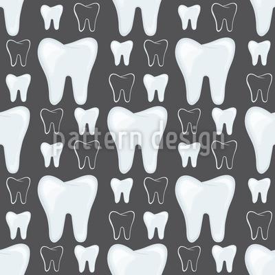 Zähne Musterdesign