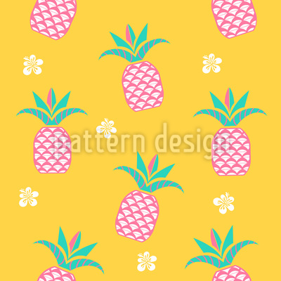 Pineapple In The Morning Pattern Design
