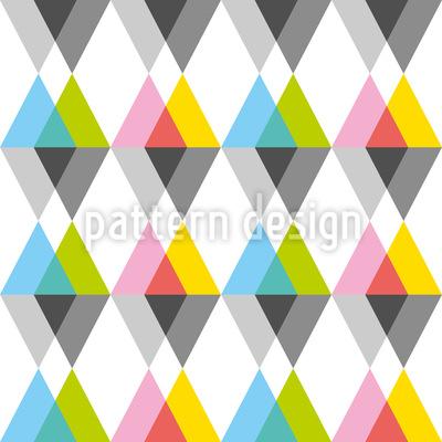 Geometrische Dreiecke Vektor Muster