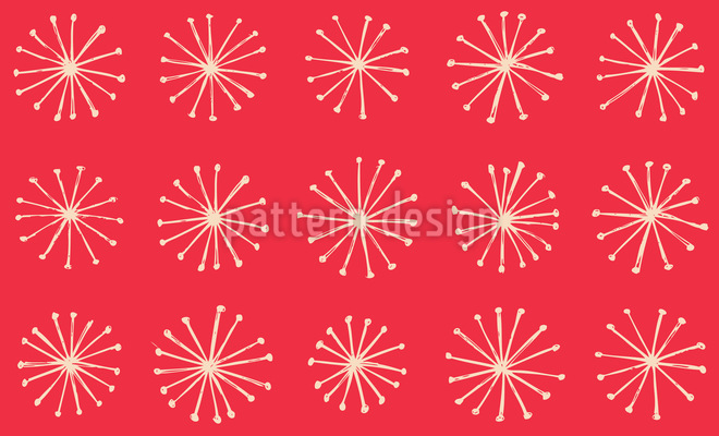 Star Sparkle Seamless Vector Pattern