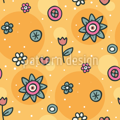 Schau Auf Die Blumen Vektor Design