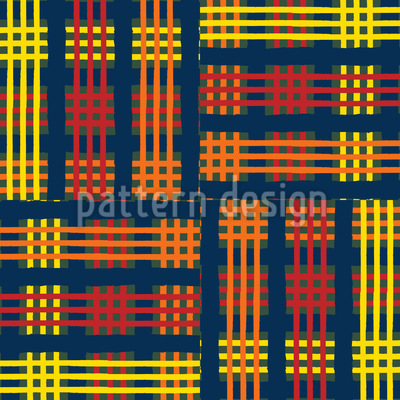 Tartan Cloth Repeating Pattern