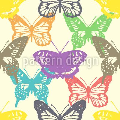 Schmetterlings Show Rapportmuster