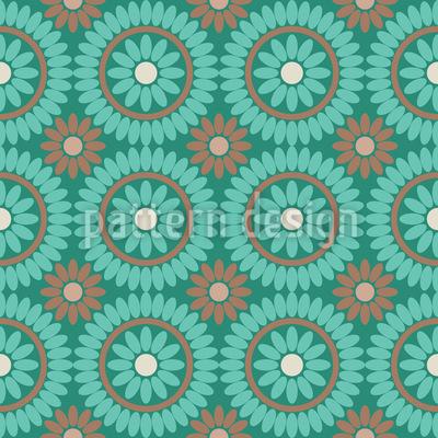 Boho Blumen Designmuster