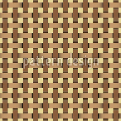Wicker Weave Seamless Vector Pattern